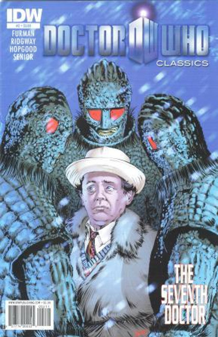 Doctor Who Comic Classics 7th Doctor Stories - Issue #2 of 5