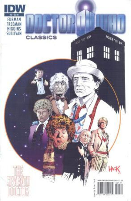 Doctor Who Comic Classics 7th Doctor Stories - Issue #4 of 5