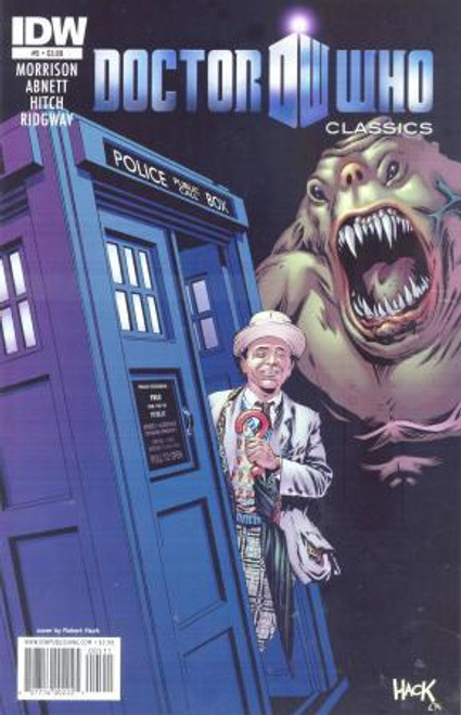 Doctor Who Comic Classics 7th Doctor Stories - Issue #5 of 5