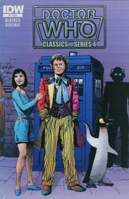 Doctor Who Comic Classics Series 4 Issue #1 of 6 (6th Doctor Stories)