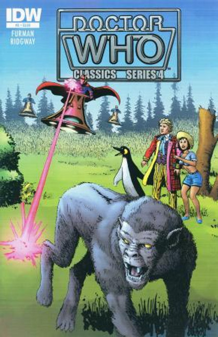 Doctor Who Comic Classics Series 4 Issue #2 of 6 (6th Doctor Stories)