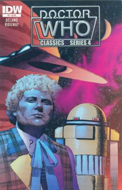Doctor Who Comic Classics Series 4 Issue #3 of 6 (6th Doctor Stories)