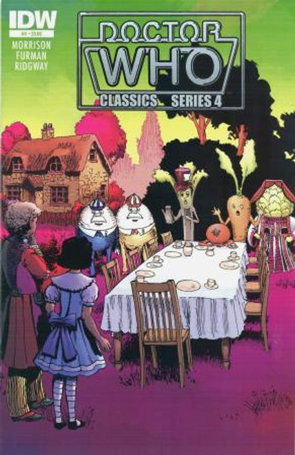 Doctor Who Comic Classics Series 4 Issue #4 of 6 (6th Doctor Stories)