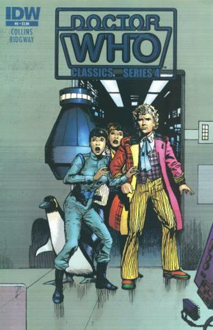 Doctor Who Comic Classics Series 4 Issue #5 of 6 (6th Doctor Stories)