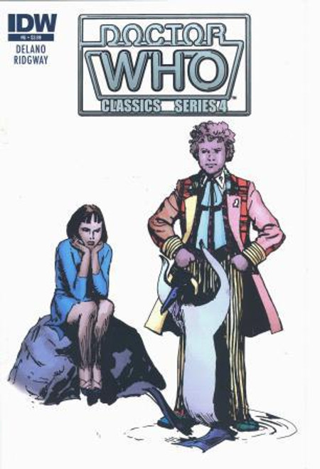 Doctor Who Comic Classics Series 4 Issue #6 of 6 (6th Doctor Stories)
