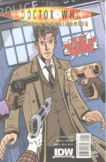 Doctor Who Comic Book: The TIME MACHINATION (Regular Cover)