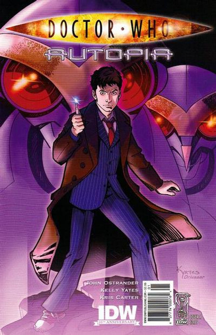 Doctor Who Comic Book: AUTOPIA (Kelly Yates Artwork Cover)