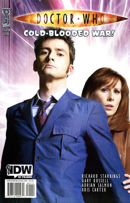 Doctor Who Comic Book: COLD-BLOODED WAR (David Tennant Photo Cover)