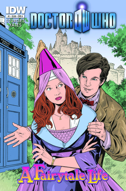 Doctor Who IDW Comic Book: FAIRYTALE LIFE Issue #1 of 4 (Cover A)