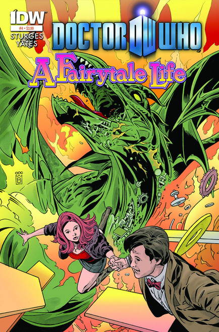 Doctor Who IDW Comic Book: FAIRYTALE LIFE Issue #4 of 4 (Cover A)