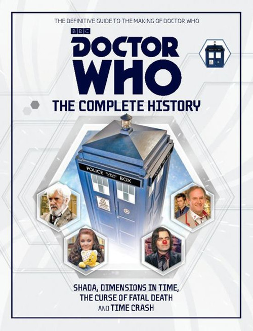 Doctor Who: The Complete History Hardcover Book - Volume 90 Appendix (Final Issue)