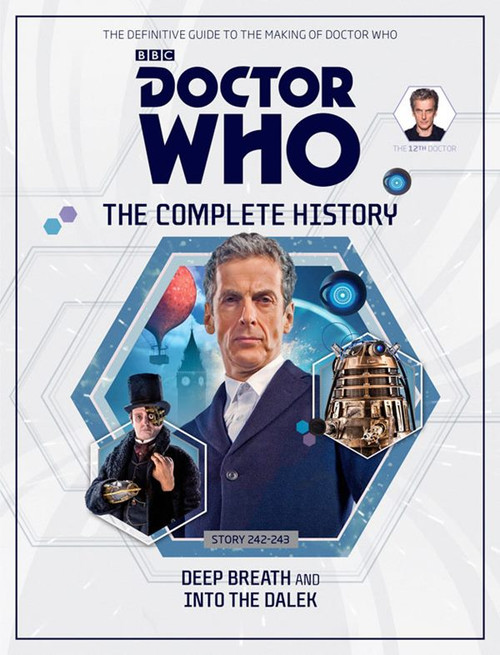 Doctor Who: The Complete History Hardcover Book - Volume 76 (12th Doctor)