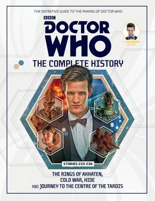 Doctor Who: The Complete History Hardcover Book - Volume 73 (11th Doctor)