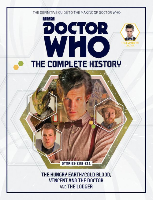Doctor Who: The Complete History Hardcover Book - Volume 65 (11th Doctor)