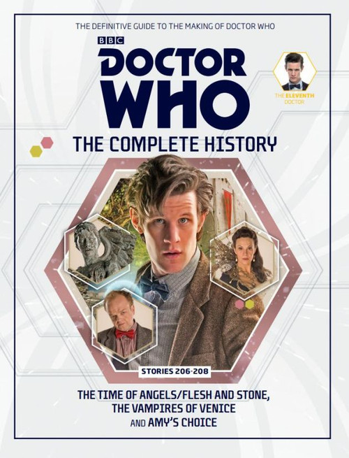 Doctor Who: The Complete History Hardcover Book - Volume 64 (11th Doctor)