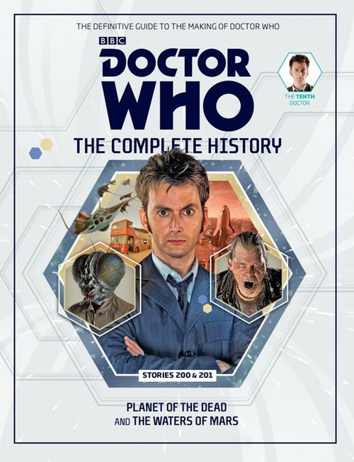 Doctor Who: The Complete History Hardcover Book - Volume 61 (10th Doctor)