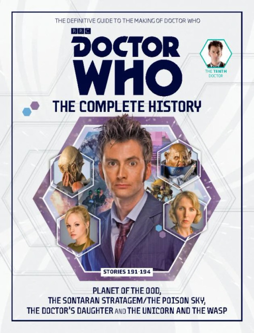 Doctor Who: The Complete History Hardcover Book - Volume 58 (10th Doctor)