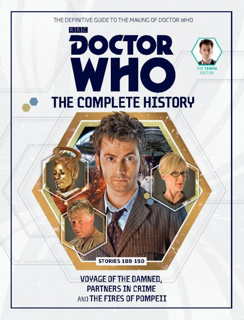 Doctor Who: The Complete History Hardcover Book - Volume 57 (10th Doctor)