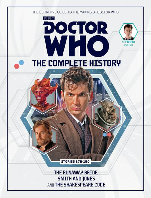 Doctor Who: The Complete History Hardcover Book - Volume 54 (10th Doctor)