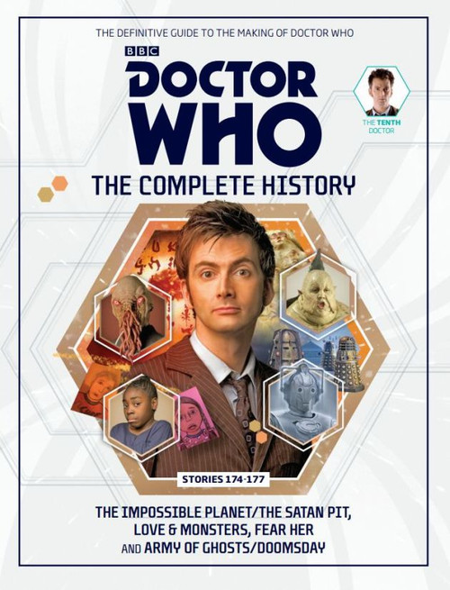 Doctor Who: The Complete History Hardcover Book - Volume 53 (10th Doctor)