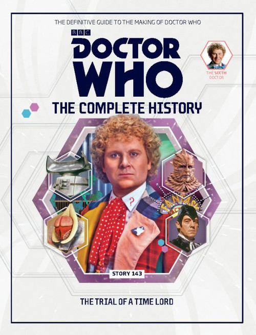 Doctor Who: The Complete History Hardcover Book - Volume 42 (6th Doctor)