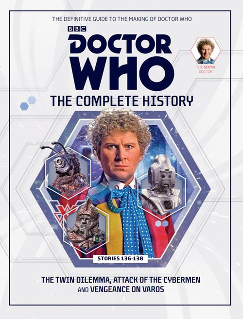 Doctor Who: The Complete History Hardcover Book - Volume 40 (6th Doctor)