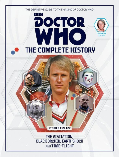 Doctor Who: The Complete History Hardcover Book - Volume 35 (5th Doctor)