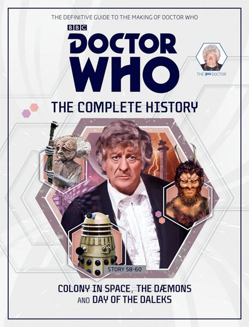 Doctor Who: The Complete History Hardcover Book - Volume 17 (3rd Doctor)