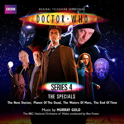 Doctor Who: Original TV Series Soundtrack SERIES 4 SPECIALS on 2 CDs