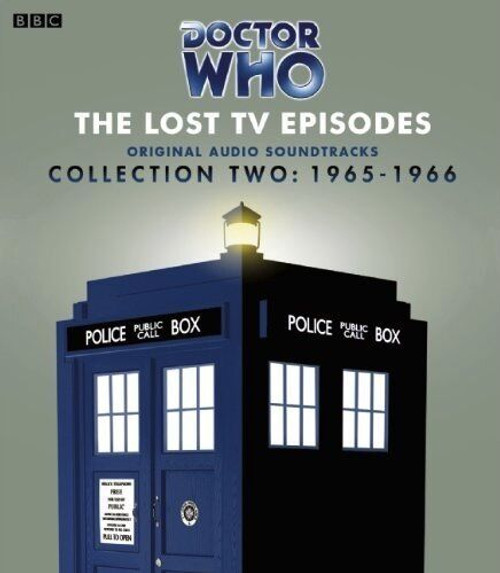 Doctor Who: The Lost TV Episodes - Collection TWO : 1965-1966 (First Doctor) - BBC Original Audio Soundtracks