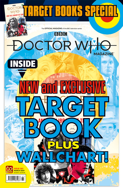 Doctor Who Magazine #561 -  FREE TARGET BOOK - THE LIBRARY OF TIME  (Poly Bagged Issue)