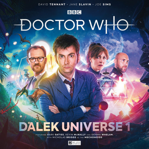 Doctor Who DALEK UNIVERSE Volume 1  Audio Drama Boxed Set  from Big Finish Starring David Tennant