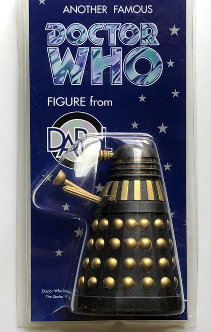 Doctor Who: DALEK (Black/Gold) - Vintage DAPOL Figure
