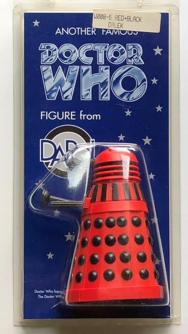 Doctor Who: DALEK (Red/Black) - Vintage DAPOL Figure