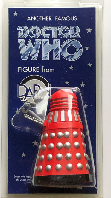 Doctor Who: MOVIE DALEK (Red/Silver with Claw Arm) - Vintage DAPOL Figure