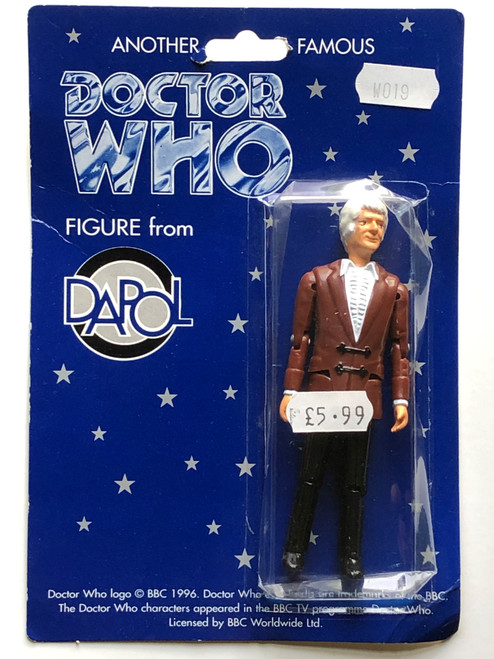 Doctor Who: 3rd Doctor (Pertwee) - Vintage DAPOL Figure
