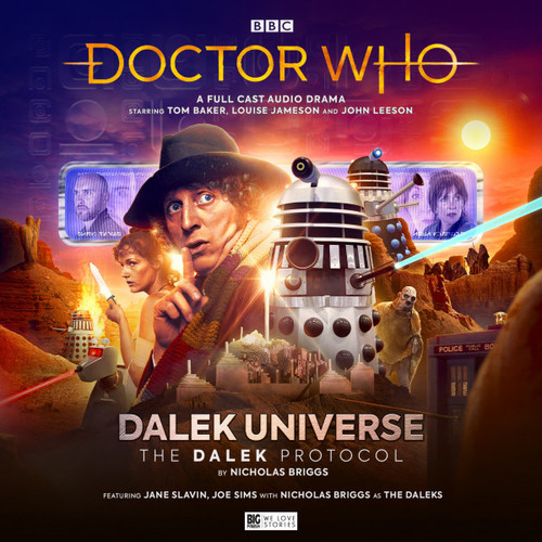 Doctor Who DALEK UNIVERSE: THE DALEK PROTOCOL Audio Drama from Big Finish Starring Tom Baker