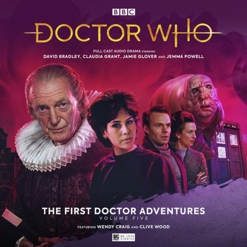 Doctor Who: The First Doctor Adventures (David Bradley) - Volume 5 (Big Finish Audio Box Set)