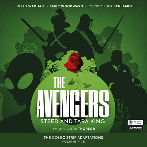 The Avengers - The Comic Strip Adaptations Volume 05: Steed & Tara King Big Finish Audio CD Boxed Set