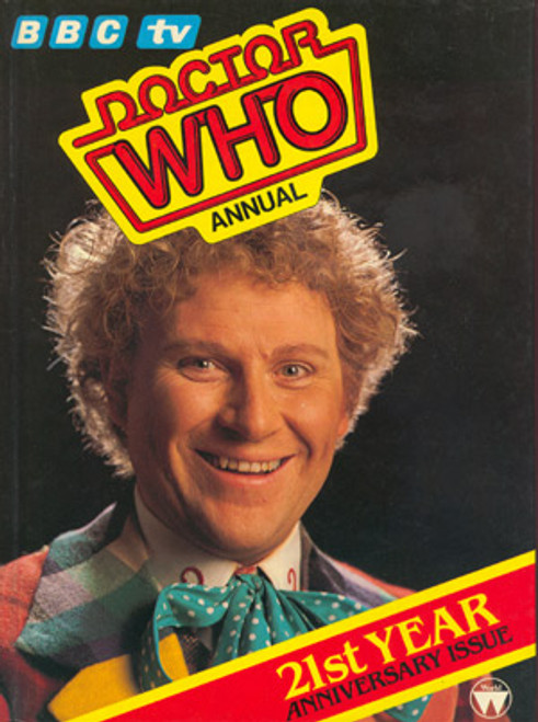 Doctor Who: 1985 Classic Annual Hardcover Book (Colin Baker)