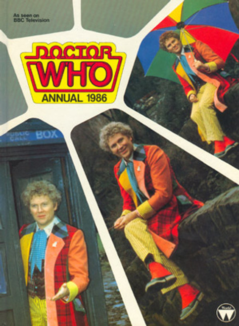 Doctor Who: 1986 Classic Annual Hardcover Book (Colin Baker)