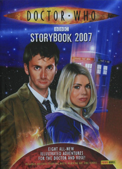 Doctor Who: 2007 New Series Storybook Hardcover Book (David Tennant)