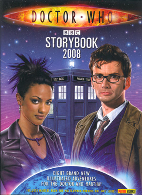 Doctor Who: 2008 New Series Storybook Hardcover Book