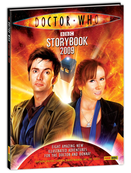 Doctor Who: 2009 New Series Storybook Hardcover Book