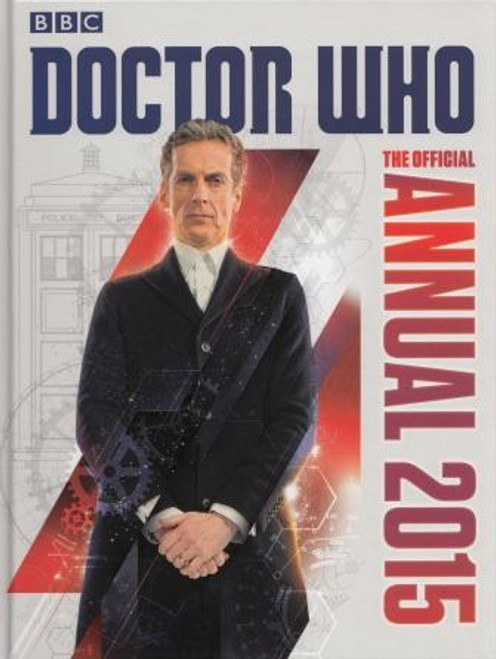 Doctor Who: 2015 New Series Annual Hardcover Book (Peter Capaldi)