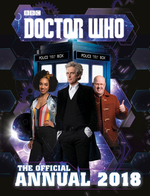 Doctor Who: 2018 New Series Annual Hardcover Book (Peter Capaldi)