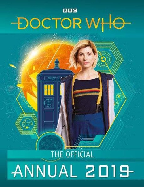Doctor Who: 2019 New Series Annual Hardcover Book (Jodie Whittaker)