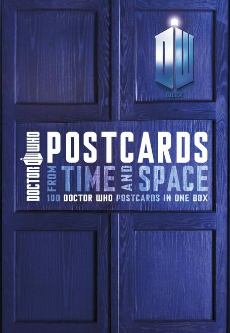 Doctor Who Postcards from Time and Space (TARDIS Boxed Set of 100 different)