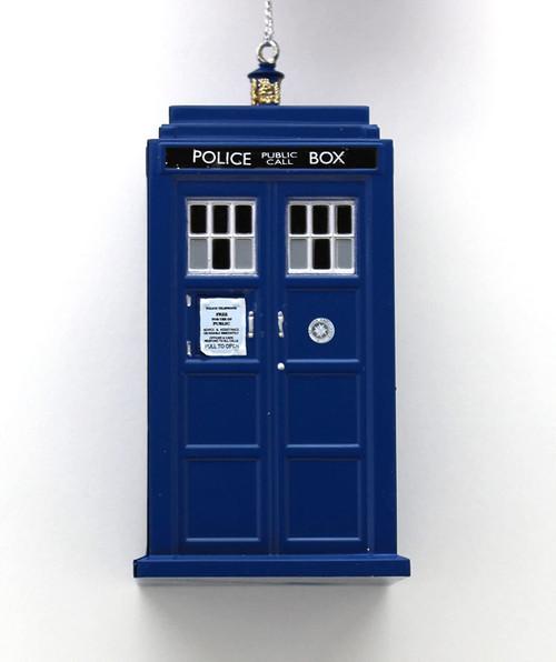 Doctor Who 4.5 inch TARDIS Christmas Ornament