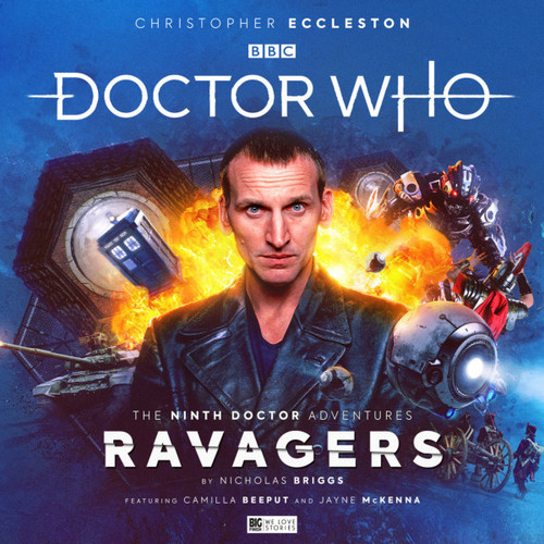 Doctor Who The Ninth Doctor Adventures - RAVAGERS - Audio Drama CD Boxed Set  from Big Finish Starring Christopher Eccelston